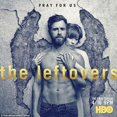 Naked ambition: Justin Theroux, 45, who plays police chief Kevin Garvey in the dramatic fa...