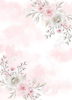 Flower Background Wallpaper, Framed Wallpaper, Flower Backgrounds, Wallpaper Backgrounds, Iphone Wallpaper, Invitation Background, Story Instagram, Flower Frame, Cute Wallpapers