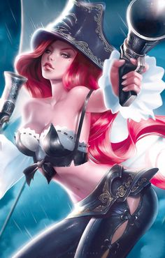 Miss Fortune~League of Legends by Janice Sung