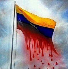 Mi país derrama sangre y desparrama violencia.