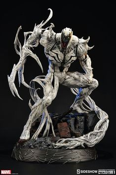 Sideshow Marvel Spider-Man Anti-Venom Statue By Collectibles Marvel Comics, Venom Comics, Marvel Villains, Marvel Dc, Sideshow Toys, Sideshow Collectibles, Sideshow Statues, Anti Venom Marvel, Symbiotes Marvel
