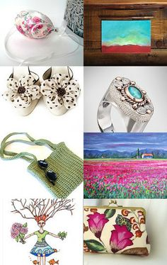 Spring by Talila on Etsy--Pinned with TreasuryPin.com
