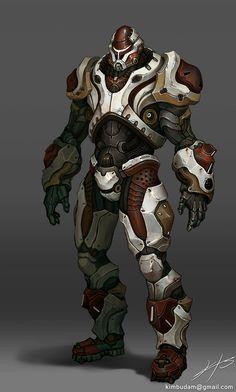 Future Soldier, Armor, Military, Futuristic Warrior, Sci-Fi, Technician