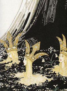 The three princesses of Whiteland, Kay Nielsen. 1914 // Patrizia Conde