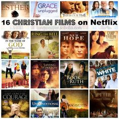 A list of Christian films to add to your Netflix queue. An entertainment post from Seattle area family lifestyle blog Long Wait For Isabella.