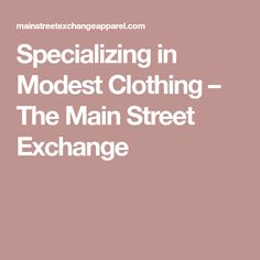 01cc8445803 Specializing in Modest Clothing