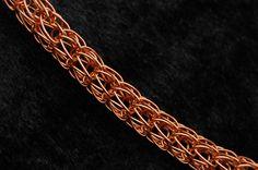 "Kupfer-Armband ""Viking Knit"" von KDS Design auf DaWanda.com"
