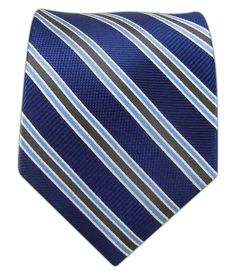 Bella Stripe - Navy | Ties, Bow Ties, and Pocket Squares | The Tie Bar