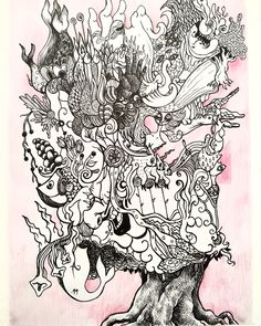 Alehandro Perez - tree of knowledge Knowledge, Painting, Consciousness, Painting Art, Paintings, Paint, Draw, Facts