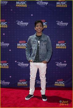 Karan Brar at the Radio Disney Music Awards 2016