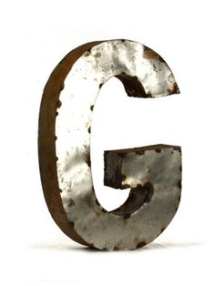 Letter G (Small) by Zentique on Gilt Home