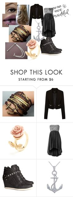 """""""Be Your Own Kind of Beautiful"""" by lamenk99 ❤ liked on Polyvore featuring Warehouse, H&M and WALL"""