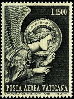 Vatican Stamp 1968