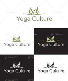 Yoga Culture Logo - http://www.codegrape.com/item/yoga-culture-logo/4400