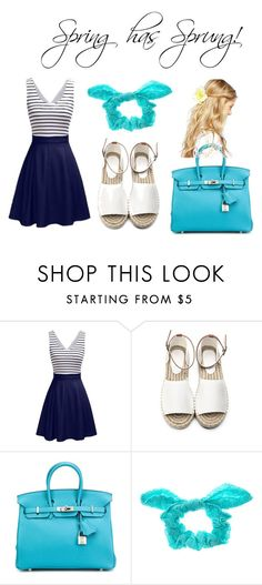 """""""Spring Outfit"""" by jsd13711 on Polyvore featuring Hermès, claire's and ASOS"""