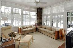 enclosed garden porches   An enclosed sunporch An enclosed sunporch offers a view of the fine ...