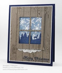 To You & Yours, Hearth & Home Thinlits swap card shared by Dawn Olchefske #dostamping #stampinup