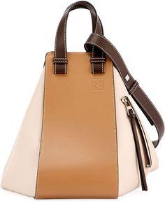 eeaf2953d9 Loewe Hammock Small Classic Shoulder Bag Leather Satchel, Calf Leather,  Embossed Logo, Loewe