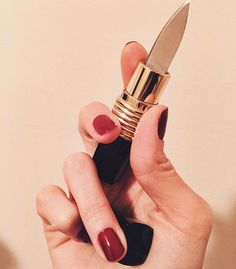 Shade of My Enemies Lipstick Knife