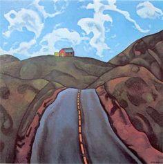 rita angus | RITA ANGUS Hawkes Bay Landscape 1966 Vincent Van Gogh, Matisse, World Of Wearable Art, Critique D'art, Art Nouveau, Rockwell Kent, Polynesian Art, New Zealand Landscape, New Zealand Art