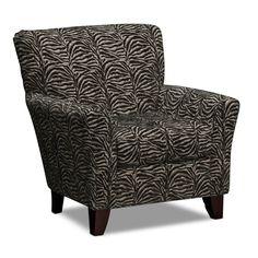 #AnimalPrint #trends Living Room Furniture - Safari Accent Chair