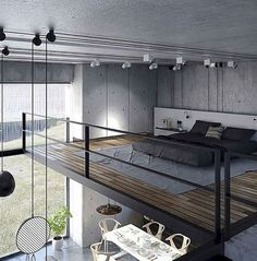 80 Super Cool Modern Home or Apartment Interior Ideas www. 80 Super Cool Modern Home or Apartment Interior Ideas www.futuristarchi… 80 Super Cool Modern Home or Apartment Interior Ideas www. Loft Design, Modern House Design, Modern Interior Design, Interior Architecture, Interior Ideas, Simple Interior, Amazing Architecture, Contemporary Interior, Bed Design