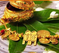 How to decorate Thali dollar - South Indian Mangalyam Designs 2019
