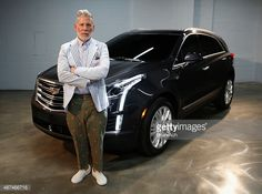 Style icon Nick Wooster attends the Cadillac announcement of partnership with Public School to unveil Pre-Fall Collection in Dubai alongside All-New Luxury Crossover, The XT5 on September 9, 2015 in New York City.