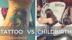 What does childbirth feel like? Is it worse than getting a tattoo? Birth classes prepare you for so much more than just birth! Great post from instructor and doula Laurie McGowan in Calgary, Canada.