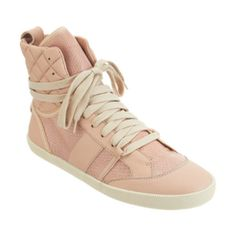 Chloé Snakeskin Combo High Top Sale up to 70% off at Barneyswarehouse.com