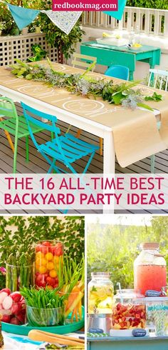 BACKYARD SPRING AND SUMMER PARTY IDEAS: Throw the best birthday party, barbeque, and summer soiree ever with these brilliant and easy party planning ideas. Here you'll find a roundup of the best party tips including drink ideas and recipes, appetizer ideas, easy decorations you can DIY, and much more. Click through to see all the simple and fun party ideas you need to try asap!