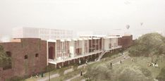 Image 1 of 10 from gallery of Bee Breeders Announces Winners of the Rome Collective Living Challenge. Photograph by Bee Breeders Architecture Board, Architecture Drawings, School Architecture, Amazing Architecture, Lund University, Timber Structure, Urban Fabric, Living In Italy, Architectural Elements