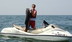 Jet Ski Fishing & Adventures Jet Ski Fishing, Fishing Adventure, Kayaks, Yachts, Water Sports, Boats, Oxford Shoes, Pictures, Men