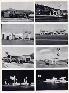 26 gasoline stations, 1962 by Ed Ruscha