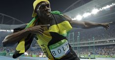 Here's the origin of Usain Bolt's signature victory pose