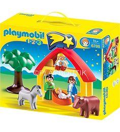 Crèche Playmobil  1.2.3 pour les petits ( à partir de 18 mois ) http://www.playboutik.com/achat-playmobil-creche-1-2-3-406185.html.