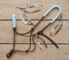 www.pegasebuzz.com | Equestrian Fashion : Horse Beads halter I love this!!!!!!