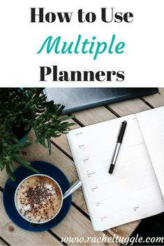 www.racheltuggle.com -- I don't know about you, but sometimes I feel like life is too big for just one planner. I think that living a well-planned life is accessible to us all. You just have to know how to use multiple planners. You have way too much life crammed into one little book, and it just cannot manage it all for you!
