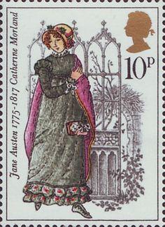 Reino Unido 1975 - Jane Austen fue una destacada novelista británica