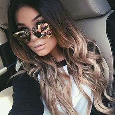 Looking for trending ombre hair color ideas? Find different awesome colors to try and tips to maintain your beautiful ombre hairstyles. Hair 20 Trending Ombre Hair Color Ideas to Try (WITH PICTURES) Balayage Hair, Dark Roots Blonde Hair Balayage, Haircolor, Brown To Blonde Ombre Hair, Ombre Hair Color For Brunettes, Long Ombre Hair, Brown Ambre Hair, Hair Ideas For Brunettes, Ombre Hair Brunette