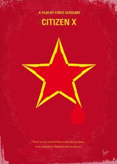 Citizen X (1995) ~ Minimal Movie Poster by Chungkong #amusementphile