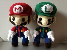 Mario and Luigi Sackboy by anjelicimp.deviantart.com on @deviantART