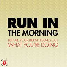 Start your week off right! #mondaymotivation #runspiration