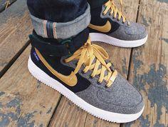 Nike Air Force 1 High ID x Pendleton 2014 - mrkingjd