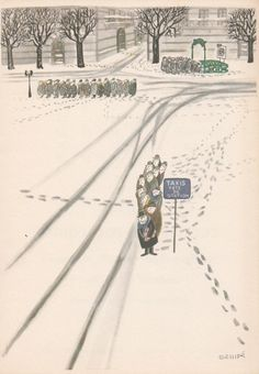 Sempé: Comment on s'enrhume à Paris - how to catch cold in Paris The New Yorker, New Yorker Covers, Pretty Drawings, Art Drawings, Banksy, Paris Ville, Humor Grafico, Children's Book Illustration, Illustrations Posters