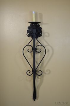 Spanish wall sconce