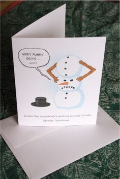 Another FUNNY Christmas card!