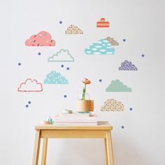 Stickers Just a touch Cloudy : Mimi'lou - Berceau Magique