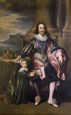 Photograph-Charles I and Prince Charles Photo Print made in the USA Anthony Van Dyck, Sir Anthony, Prince Charles, King Charles, Fine Art Prints, Framed Prints, Canvas Prints, Marble Hill House, Richmond Upon Thames