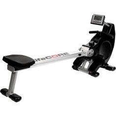 Take a seat on the LifeCore Fitness® R88 Rower and give your upper body the ultimate workout. With 6 levels of silent magnetic resistance, built-in race programs and an LCD display to track your stats, this rower will be sure to bring out your competitive side. Large, comfortable foot beds secure your feet, while the adjustable air vent keeps you cool no matter how much your workout heats up.